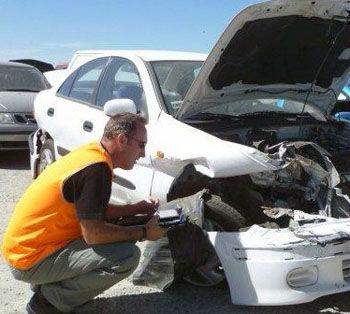 araba hasarı