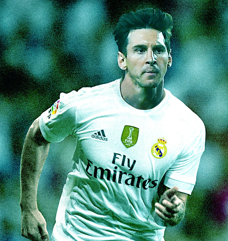 Messi Real Madrid