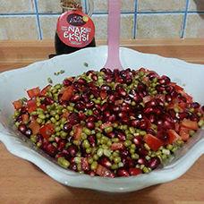 Narlı Maş Fasulyesi Salatası Tarifi