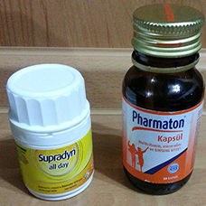 Pharmaton mu Supradyn All Day Tablet mi
