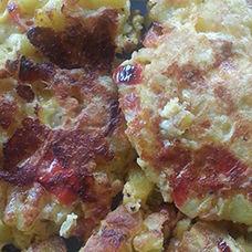 Patatesli Omlet (Patatesli Yumurta) Tarifi