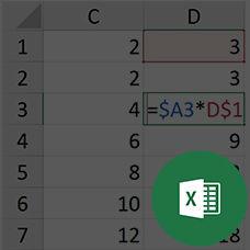 Excel'de Formülde Hücreleri Sabitlemek