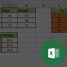 Excel HLOOKUP Fonksiyonu ve Örnekleri