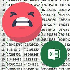 Excel'de Boşlukları Silme Yolları ve Resimli Örnekleri