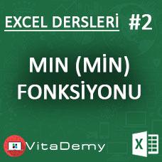 Excel MIN Fonksiyonu Kullanımı ve Örnekleri