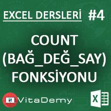 Excel COUNT ve COUNTA Fonksiyonu Kullanımı ve Örnekleri