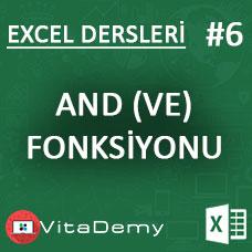 Excel AND (VE) Fonksiyonu Kullanımı ve Örnekleri
