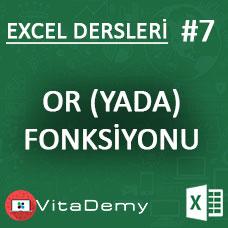 Excel OR (YADA) Fonksiyonu Kullanımı ve Örnekleri