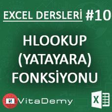 Excel HLOOKUP (YATAYARA) Fonksiyonu Kullanımı ve Örnekleri