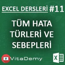Excel'de Tüm Hata Türleri ve Sebepleri