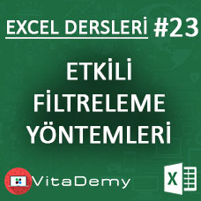 Excel'de Etkili Filtreleme Yöntemleri