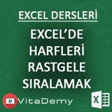 Excel'de Kelimenin Harflerini Rastgele Sıralamak (Excel VBA)
