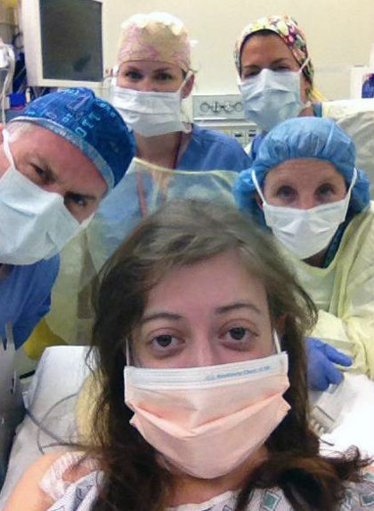 ameliyat selfie