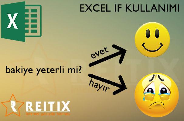 Excel if fonksiyonu