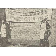 Türkiye'deki ilk Grev