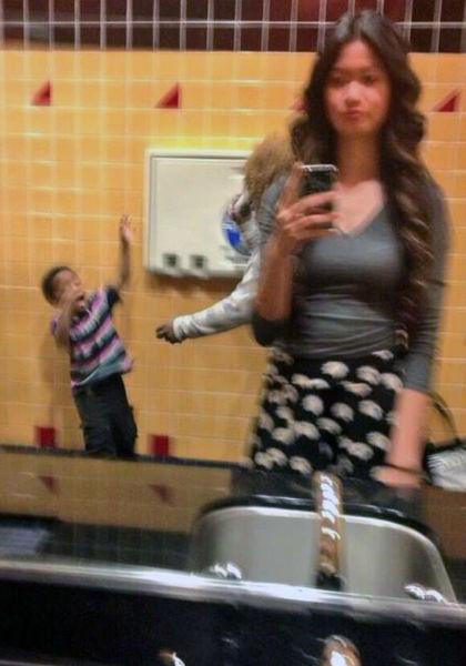 tuvalet selfie