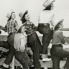 Türkiye'de ilk Kot Pantolon Üretimi
