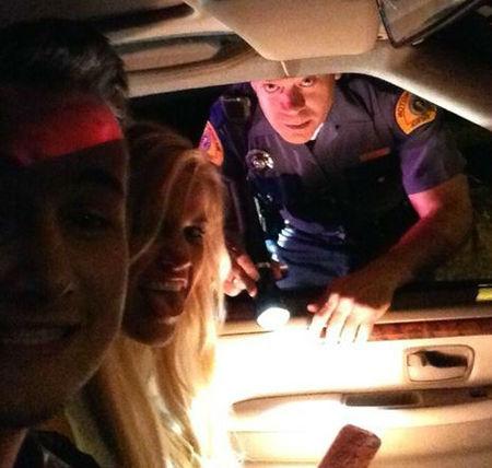 polis çevirmesi selfie