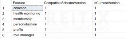 asp.net SchemaVersions table