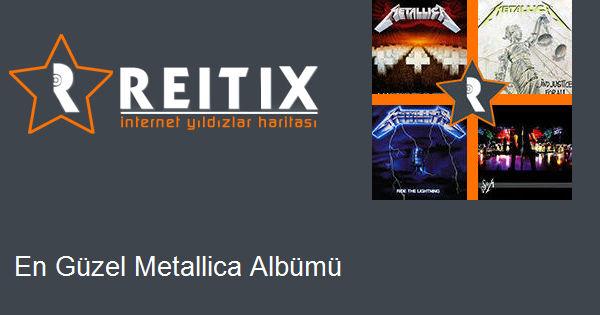 En Güzel Metallica Albümü