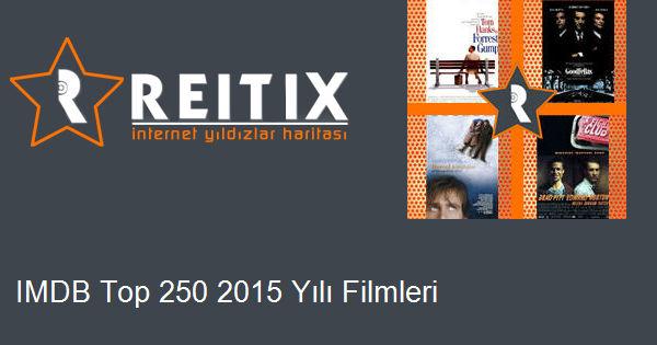 imdb Top 250 2015 Yılı Filmleri