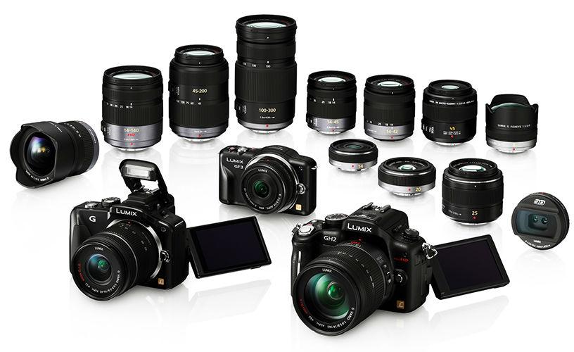 Aynasız kamera lensleri