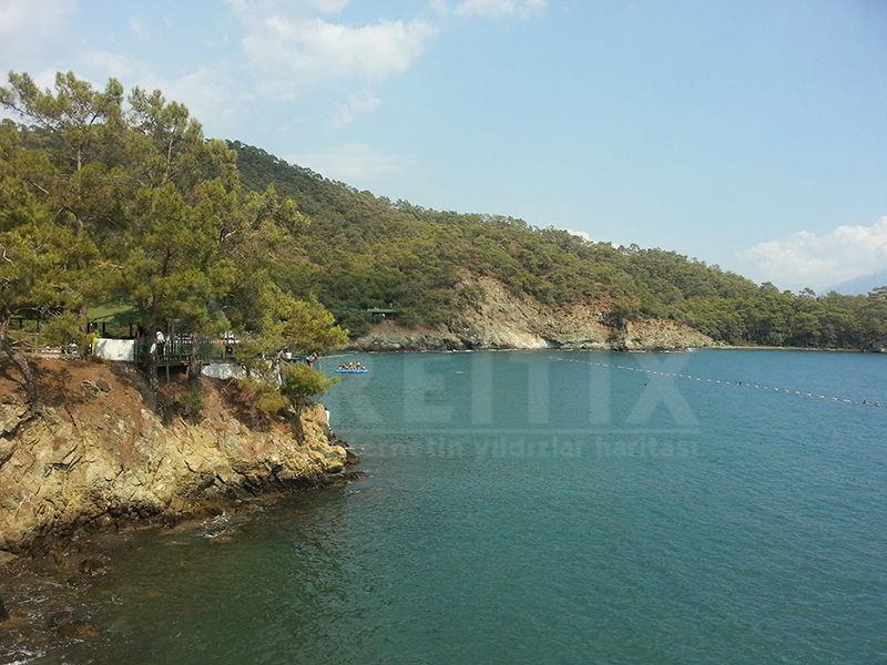 Fethiye Katrancı Koyu Denizi