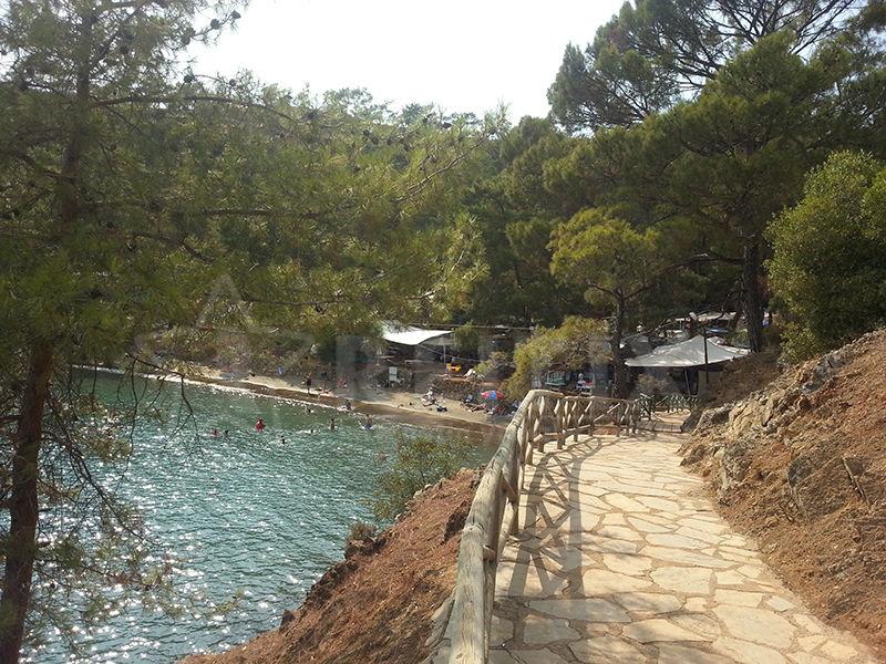 Fethiye Katrancı Koyu Plajı