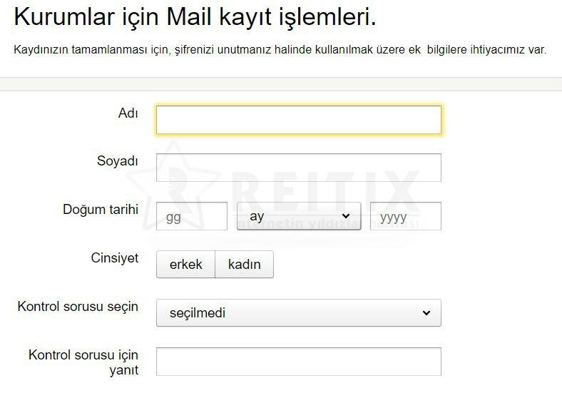 yandex mail hesap ayarları