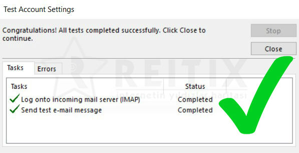 yandex-kurum-mail-outlook-imap-test