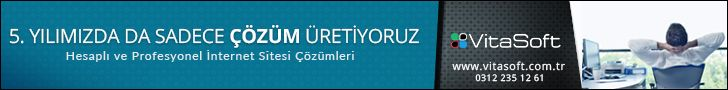 VitaSoft internet sitesi çözümleri Ankara