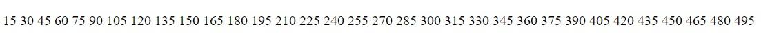 3e 5e kalansız bölünebilen sayılar