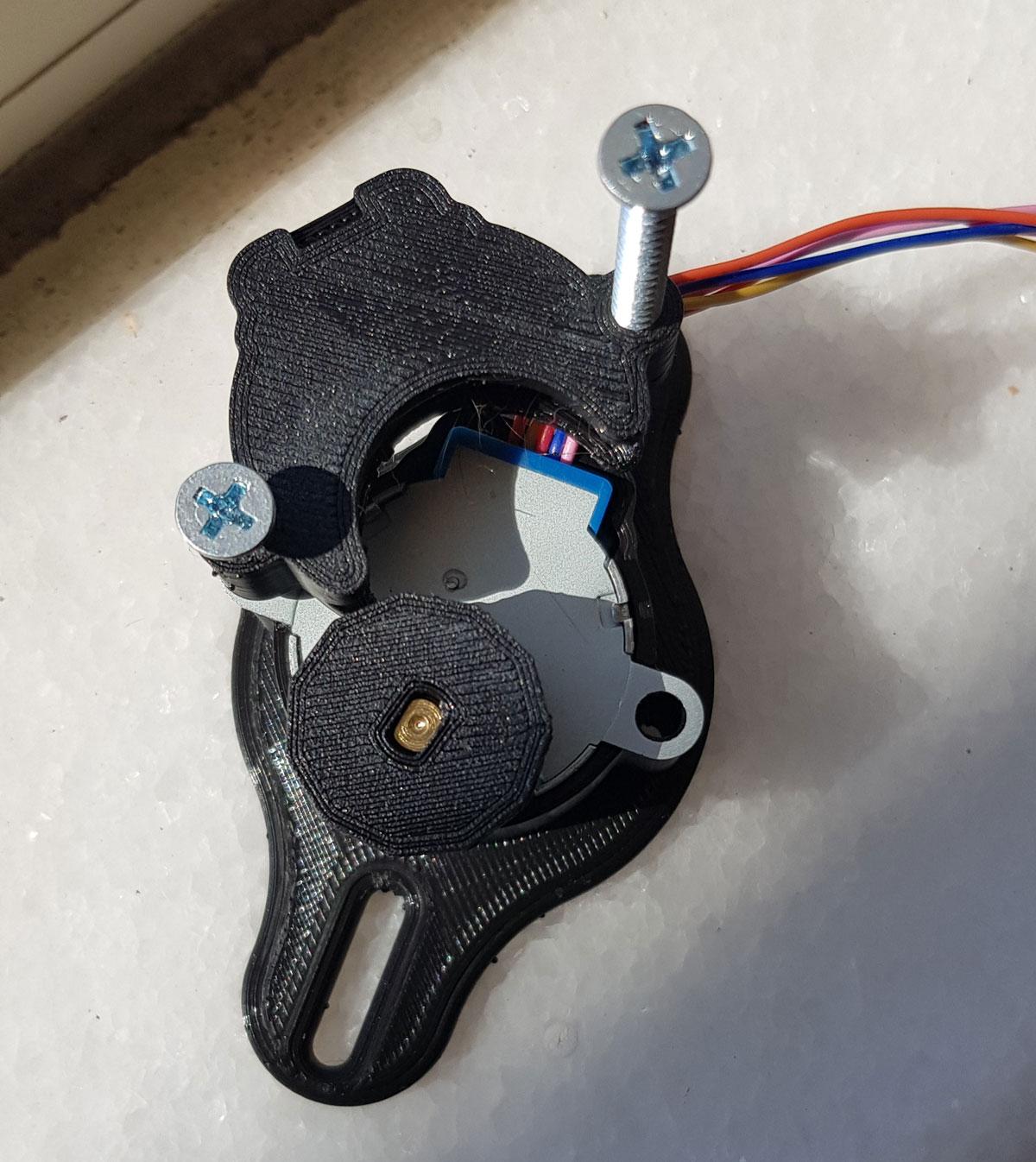 arduino 3dprinter stor perde makinesi