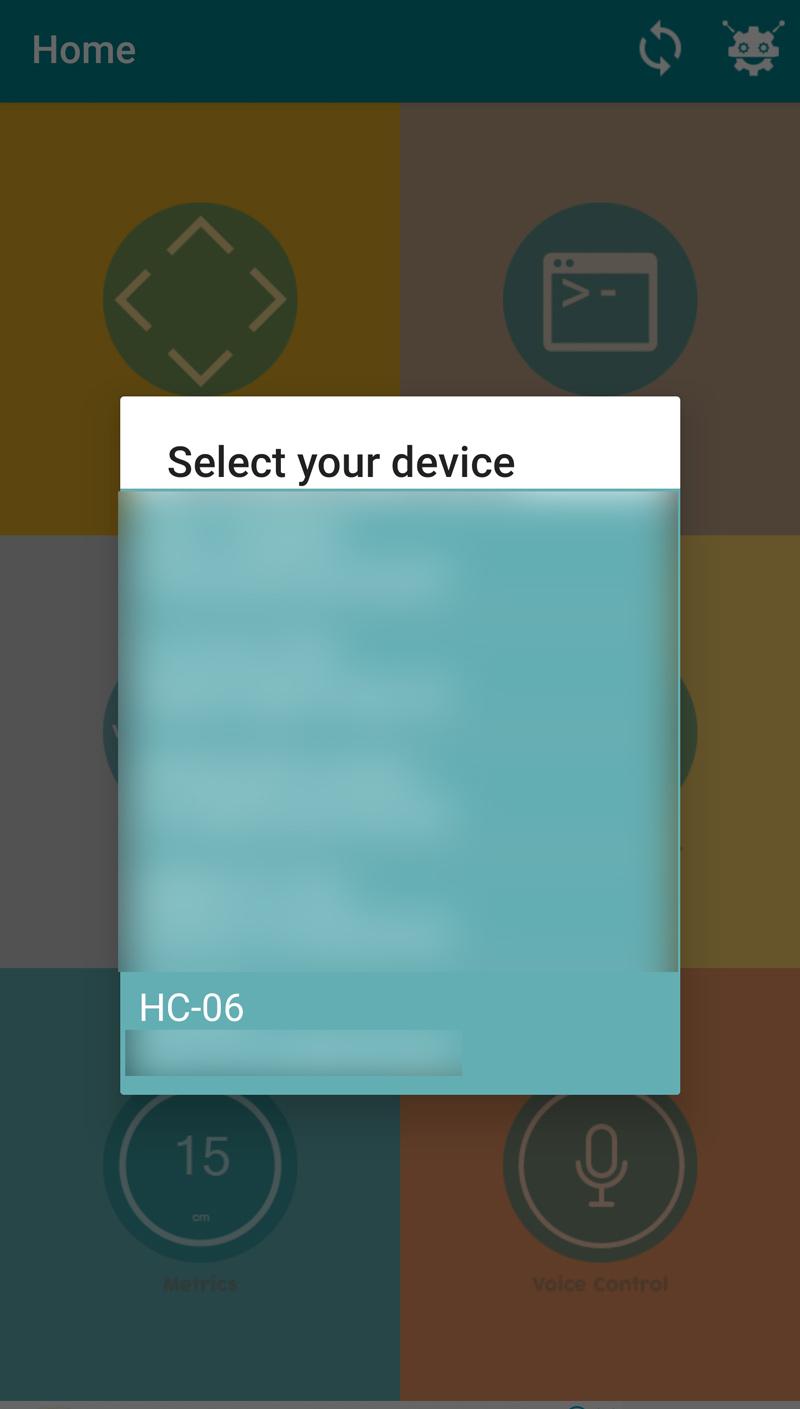 arduino bluetooth control devices