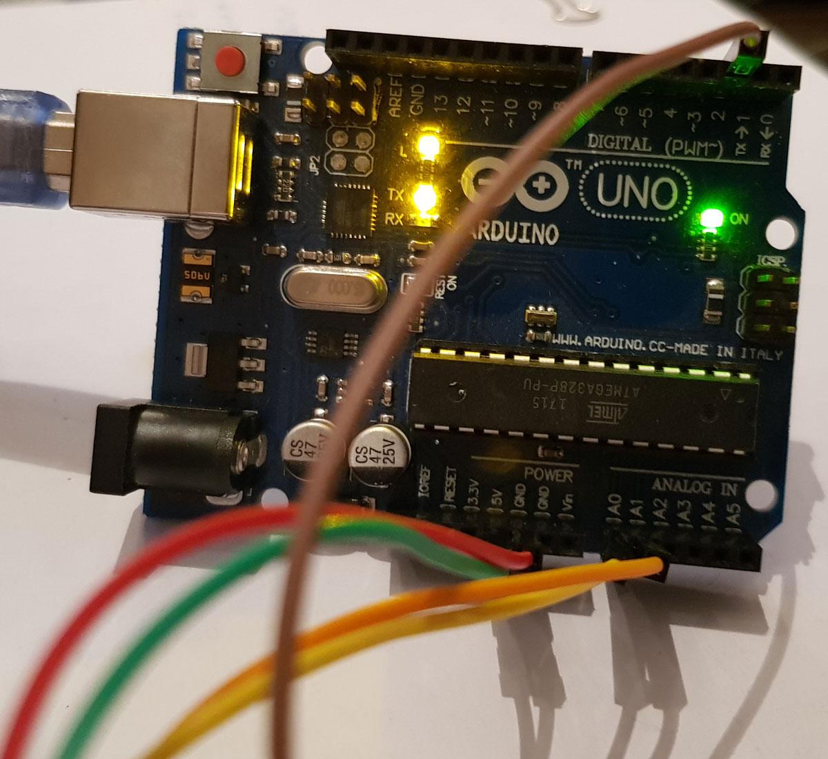 arduino joystick bağlantı