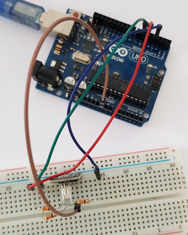 arduino rgb module connection