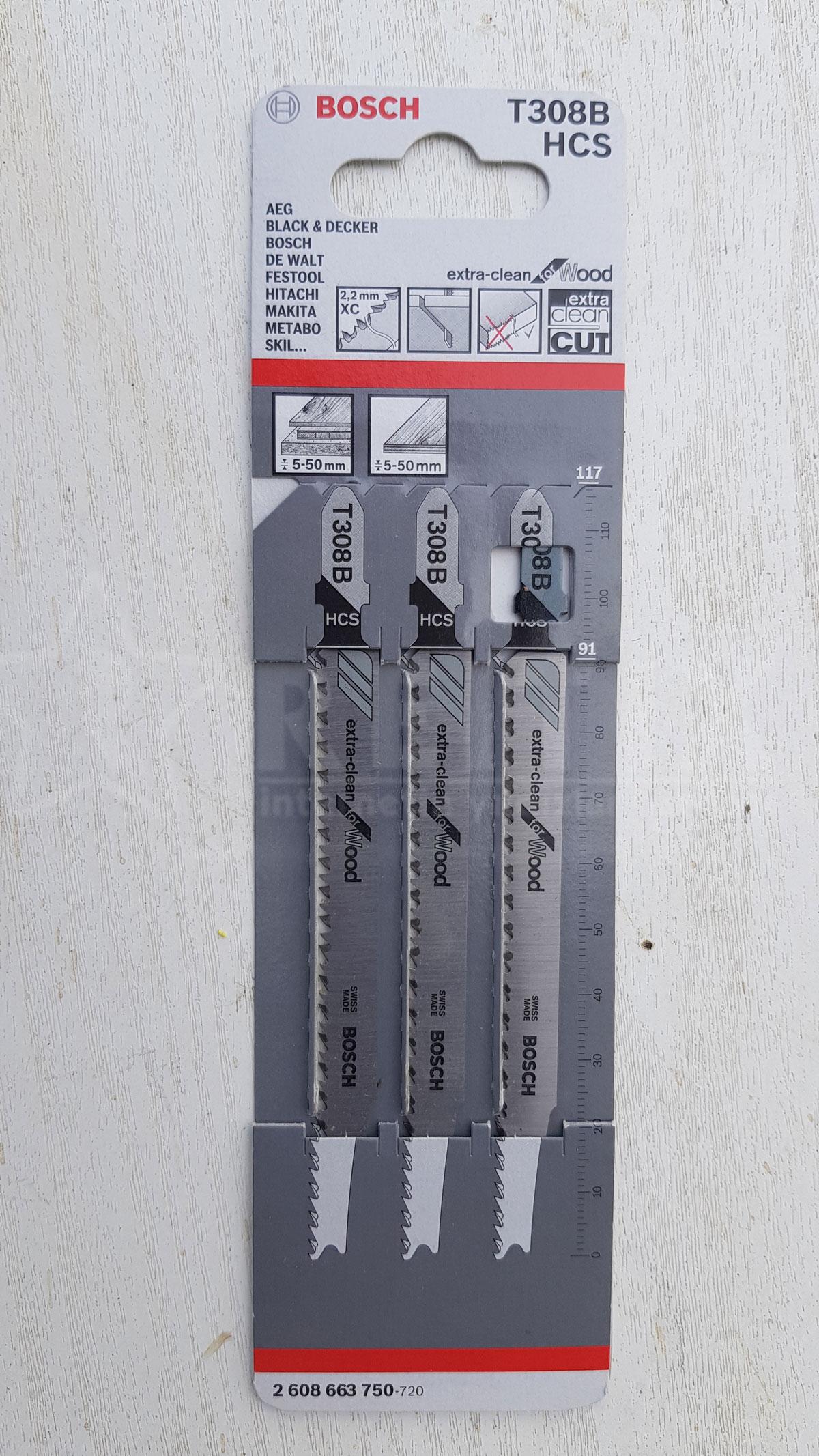 bosch ahşap için dekupaj testere bıçağı