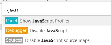 chrome disable javascript