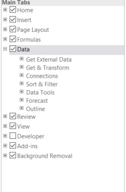 excel developer menu eklemek