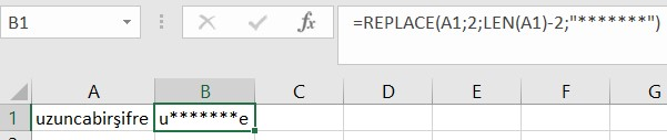 excel replace text