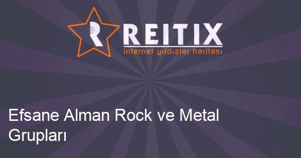 Efsane Alman Rock ve Metal Grupları