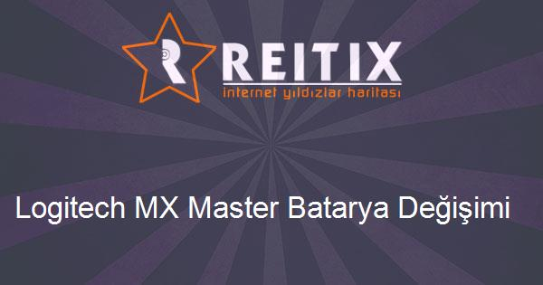 Logitech MX Master Batarya Değişimi