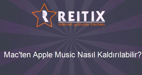 Mac'ten Apple Music Nasıl Kaldırılabilir?