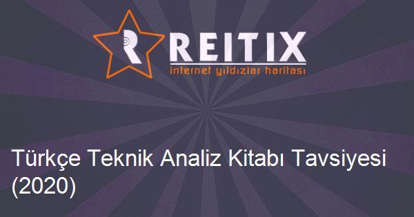 Türkçe Teknik Analiz Kitabı Tavsiyesi (2020)