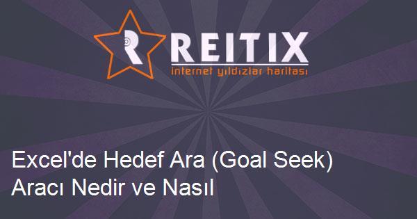 Excel'de Hedef Ara (Goal Seek) Aracı Nedir ve Nasıl Kullanılır?