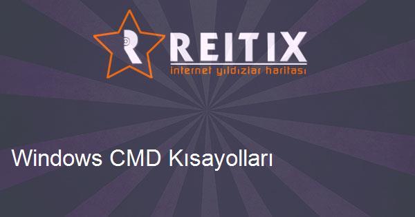 Windows CMD Kısayolları