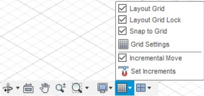 fusion 360 grid and snaps