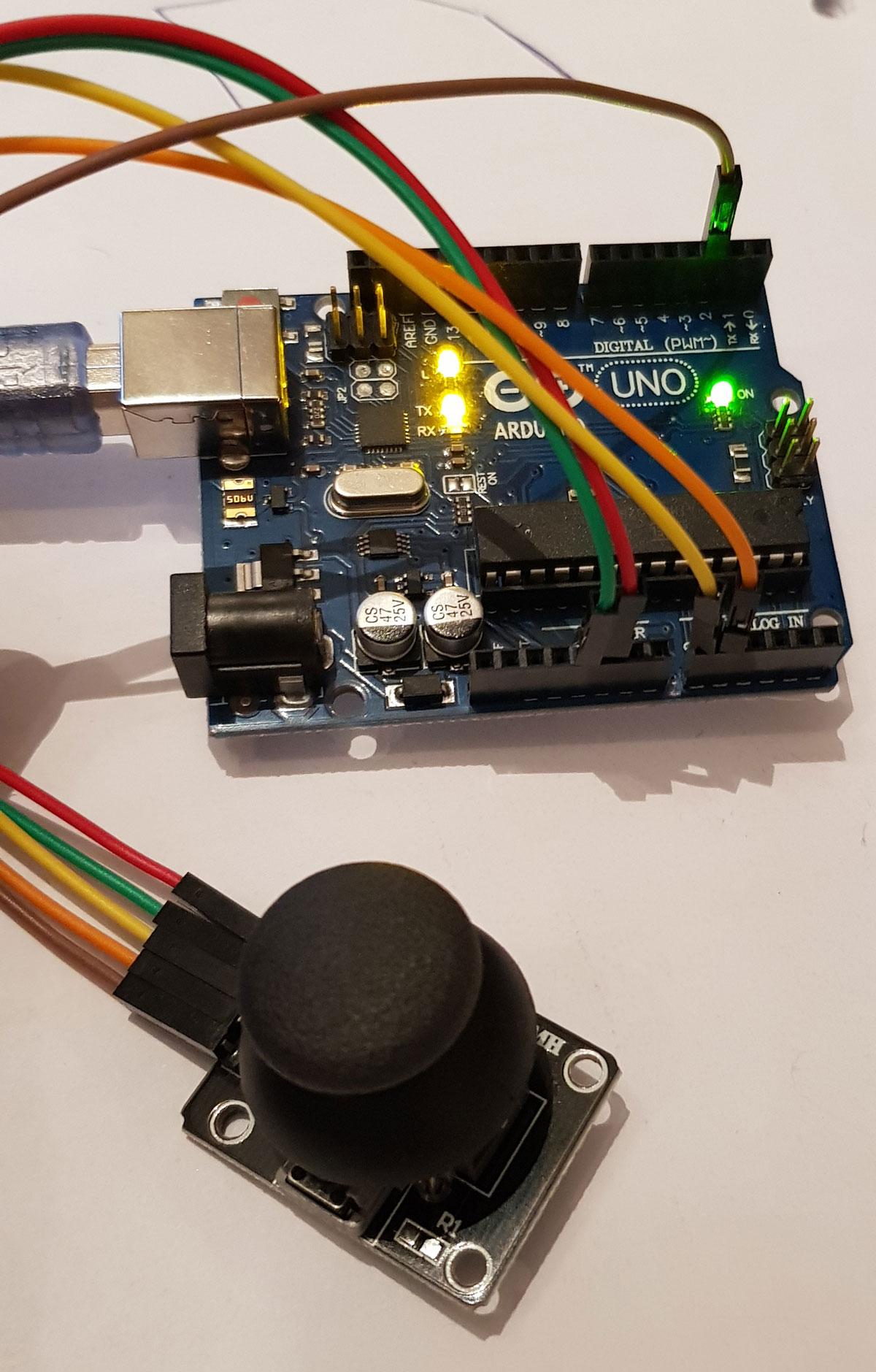 joystick-arduino