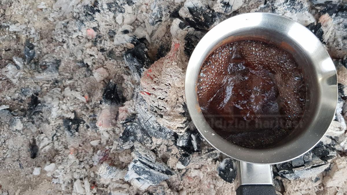 közde kahve pişirmek