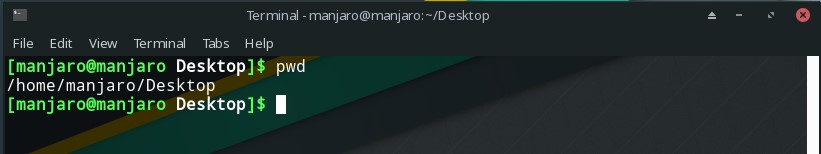 linux pwd